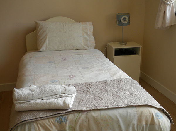 Single Bedroom at Allendale Bed and Breakfast Co Leitrim