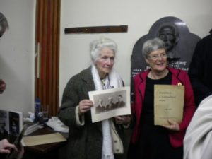 Mossie Whelan and Helen Litton at Litton Lecture on Tom Clarke.