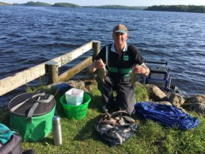 Fishing in Ireland 2018, Dave Stewart