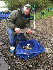 Mark Emmison fishing in Leitrim